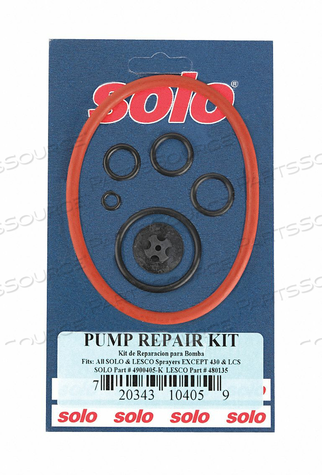 PISTON PUMP REPAIR KIT by Solo