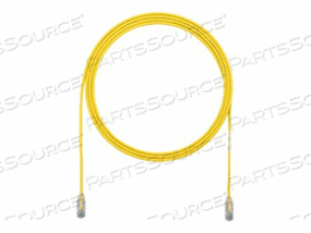 PANDUIT TX6 - PATCH CABLE - RJ-45 (M) TO RJ-45 (M) - 5 FT - UTP - CAT 6 - STRANDED, HALOGEN-FREE, BOOTED - YELLOW by Panduit