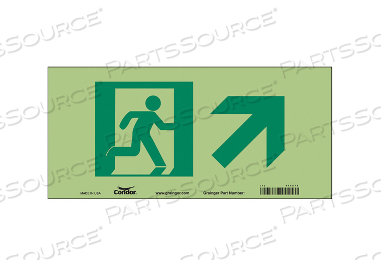 SAFETY SIGN 15 W 7 H 0.010 THICKNESS by Condor