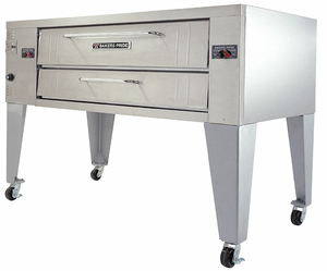 GAS DECK OVEN SINGLE BRICK LINE by Bakers Pride