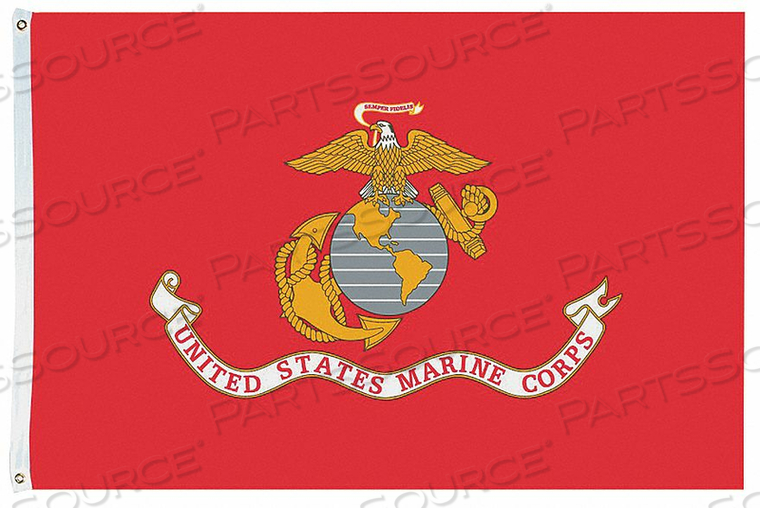D4227 US MARINE CORPS 4X6 FT NYLON by Annin Flagmakers