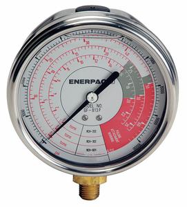 PRESSURE GAUGE GENERAL PURPOSE 4 DIAL SZ by Enerpac