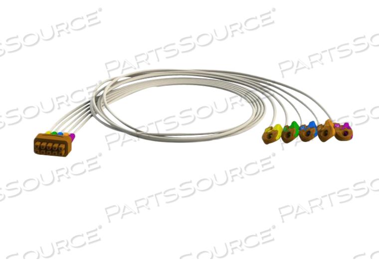 V2-6 GRABBER ECG LEADWIRE SET