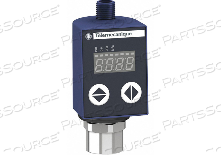 PRESSURE SENSOR 101.5 PSI 0 TO 10VDC by Telemecanique Sensors