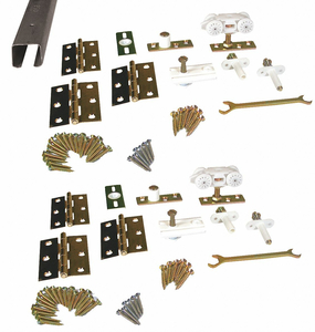 TRACK AND HARDWARE KIT 96 IN by Pemko