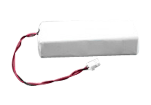 RECHARGEABLE BATTERY PACK, LITHIUM ION, 11.1V, 0.09 AH, 2 PIN LEAD LENGTH FOR VERATHON GLIDESCOPE GVL by R&D Batteries, Inc.