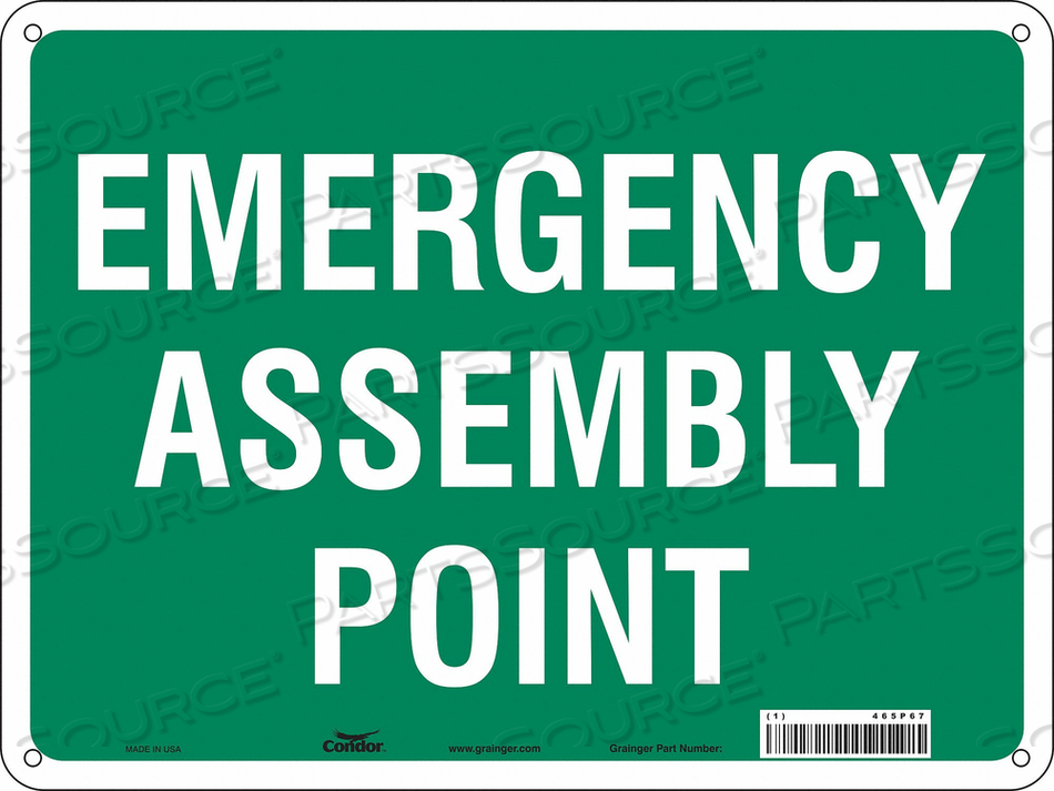SAFETY SIGN 24 WX18 H 0.032 THICKNESS by Condor