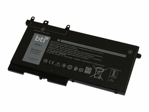 BTI 3DDDG-BTI - NOTEBOOK BATTERY (EQUIVALENT TO: DELL 3DDDG, DELL 03DDDG, DELL 03VC9Y, DELL 049XH, DELL 3VC9Y, DELL 451-BBZP) - 1 X LITHIUM POLYMER 3-CELL 3684 MAH 42 WH - FOR DELL LATITUDE 5280, 5480, 5495, 5580 by Battery Technology