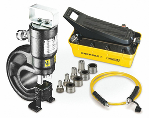 HYDRAULIC PUNCH SET 35TON 3/8 IN by Enerpac