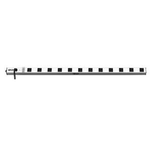TRIPP LITE POWER STRIP 12-OUTLET VERTICAL 5-15R 15FT CORD METAL 0URM 120V by Tripp Lite