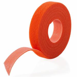 """VELCRO BRAND ONE-WRAP HOOK & LOOP TAPE FASTENERS ORANGE 1/2"""" X 75' by Industrial Webbing Corp."""