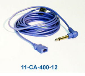 """TEMP ADAPTOR CABLE, 1/4"""" TO YSI by Nihon Kohden America"""