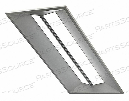 LED RECESSED TROFFER 4000K 44W 120-277V by Cree
