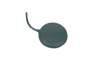 FOOT BELLOWS, BLACK, PVC, 3 MM ID, 6 MM OD, 2 M by Non-Medical