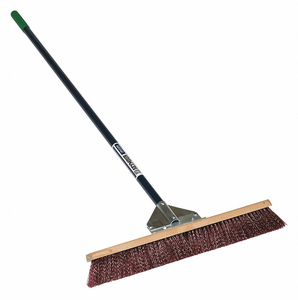 PUSH BROOM HEAD AND HANDLE 24 BROWN by Seymour Midwest