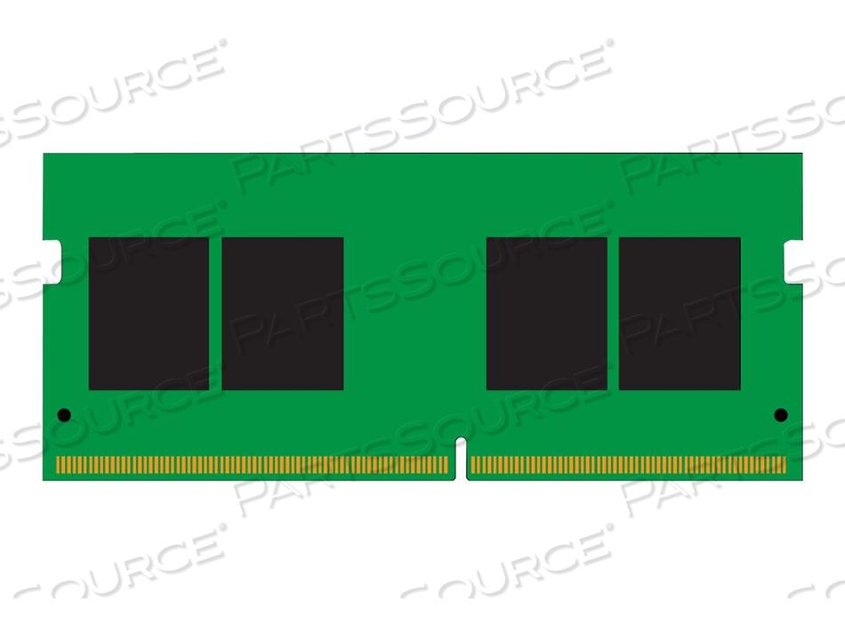 KINGSTON VALUERAM - DDR4 - 4 GB - SO-DIMM 260-PIN - 2666 MHZ / PC4-21300 - CL19 - 1.2 V - UNBUFFERED - NON-ECC by Kingston Technology