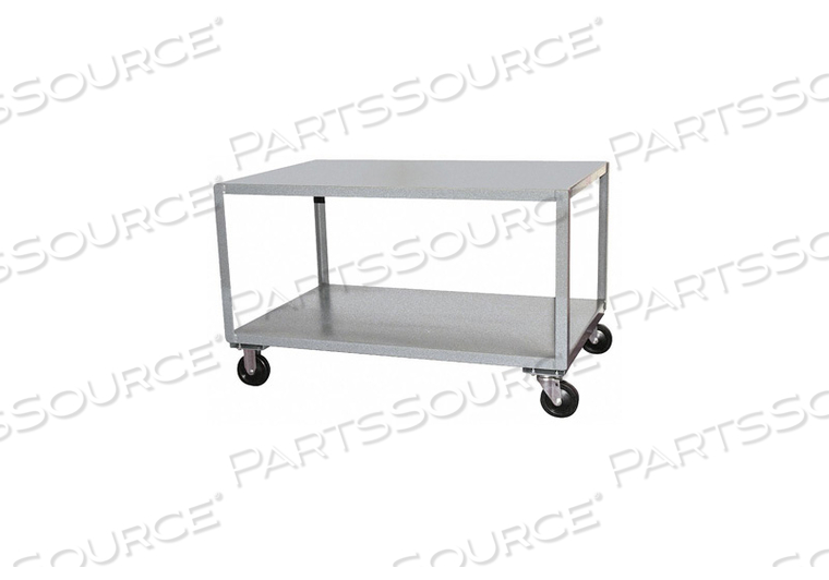 MOBILE TABLE 1200 LB. 37 IN L 25 IN W by Jamco