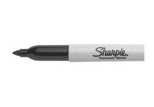 PERMANENT MARKER BLACK FINE PK12 by Sharpie