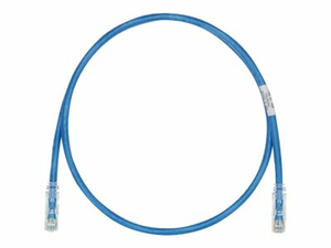 PANDUIT TX6-28 CATEGORY 6 PERFORMANCE - PATCH CABLE - RJ-45 (M) TO RJ-45 (M) - 5 FT - UTP - CAT 6 - IEEE 802.3AF/IEEE 802.3AT - STRANDED, SNAGLESS, HALOGEN-FREE, BOOTED - BLUE (PACK OF 25 ) by Panduit