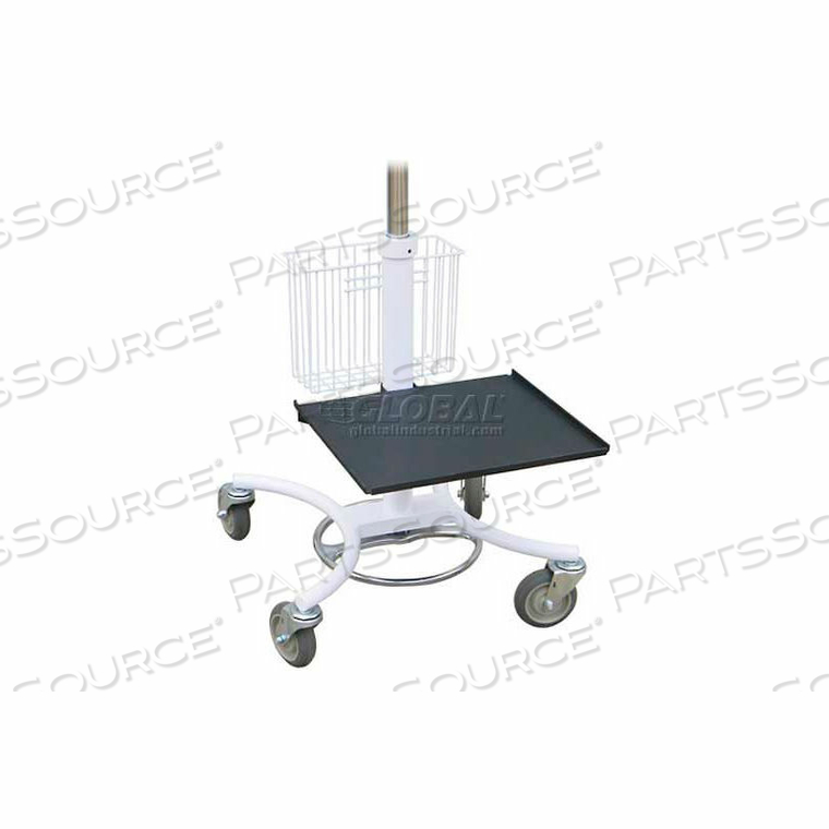 PRINTER TRAY FOR OMNI TRANSPORT CARTS by Omnimed, Inc.