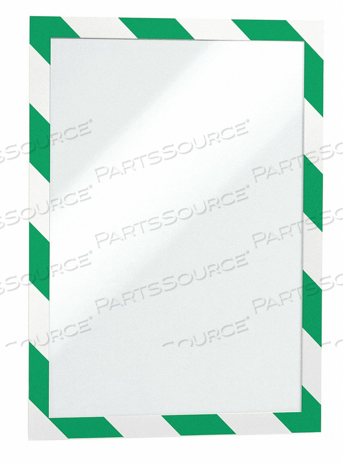 SIGN HOLDER 8-1/2 X 11 PVC PK2 by Durable