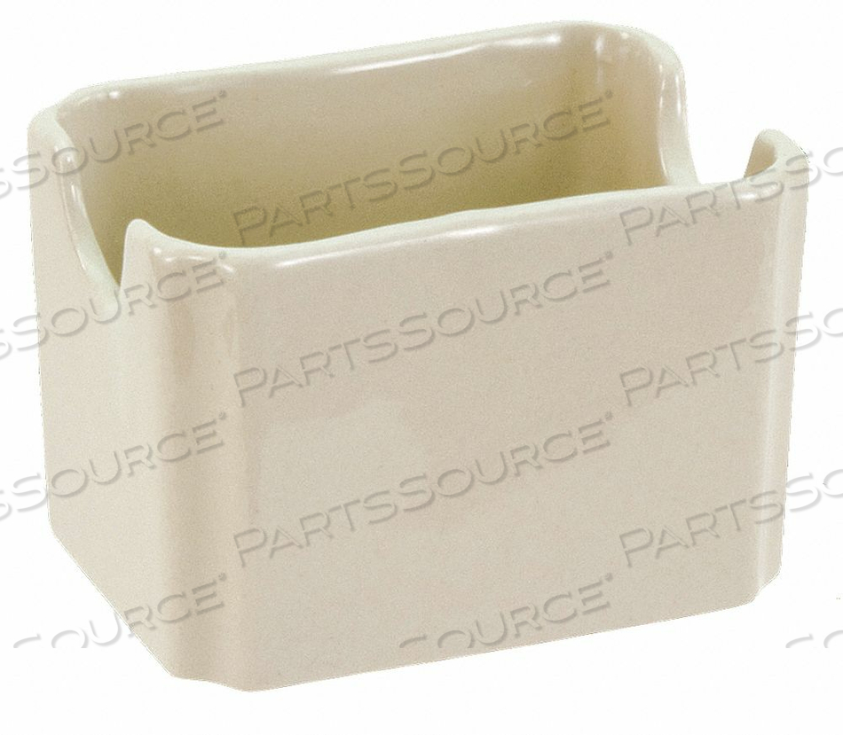 SUGAR PACKET HOLDER BONE WHITE PK48 by Crestware