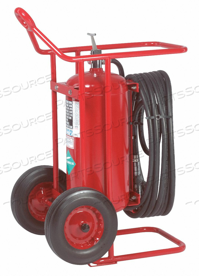 WHEELED FIRE EXTINGUISHER 125 LB. 50 FT by Amerex