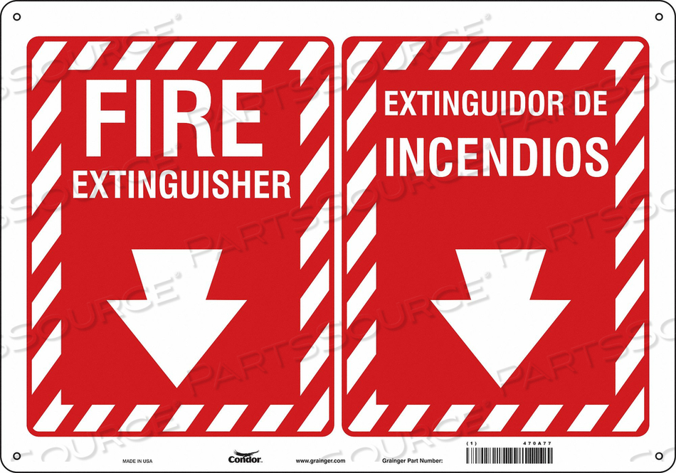 SAFETY SIGN 20 W 14 H 0.032 THICKNESS by Condor