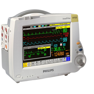 INTELLIVUE MP30 PATIENT MONITOR, 4 WAVES, SOFTWARE GENERAL / INTENSIVE CARE-G, BACKUP BATTERY OPTION by Philips Healthcare