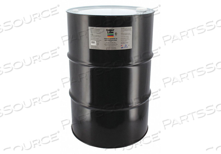 OIL W/O PTFE (LOW VISCOSITY, LT. WGT., 55 GALLON DRUM by Super Lube