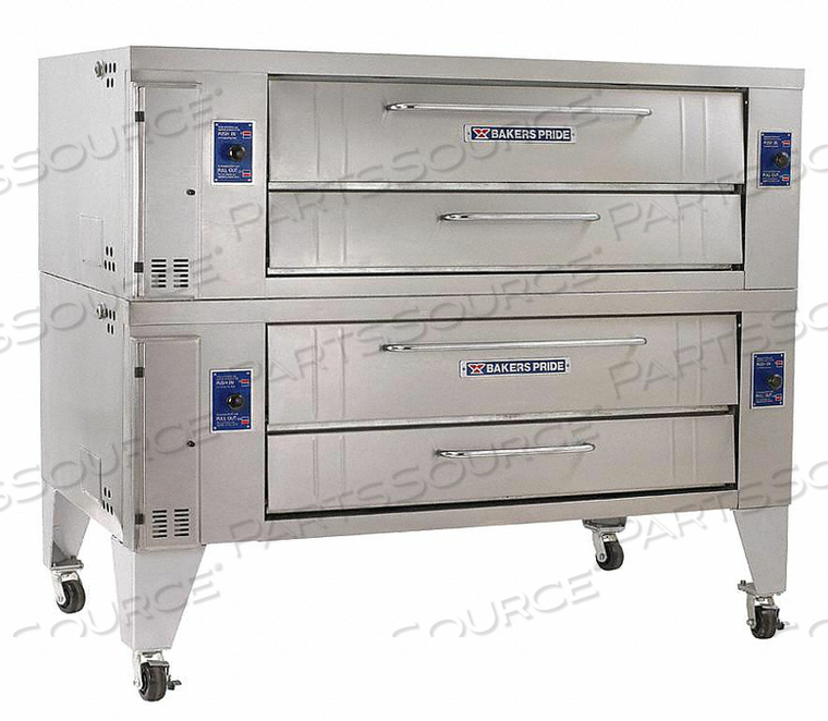 GAS DECK OVEN DOUBLE by Bakers Pride