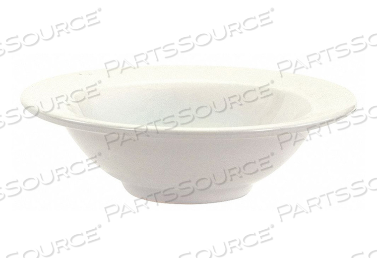 RIMMED BOWL BRIGHT WHITE 16 OZ. PK36 by Crestware