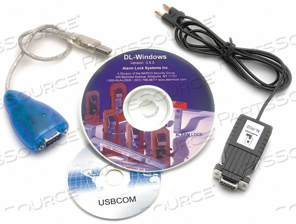 USB CABLE AND SOFTWARE by Alarm Lock