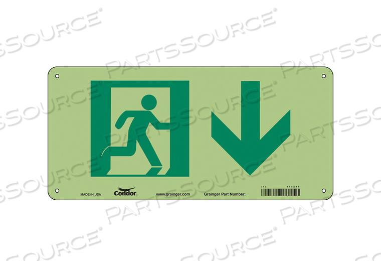 SAFETY SIGN 15 W 7 H 0.070 THICKNESS by Condor