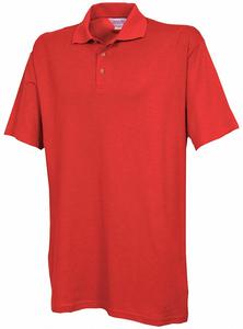 UNISEX KNIT SHIRT 2XL METRO RED by Fashion Seal
