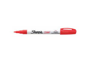 PAINT MARKER FINE POINT RED PK12 by Sharpie