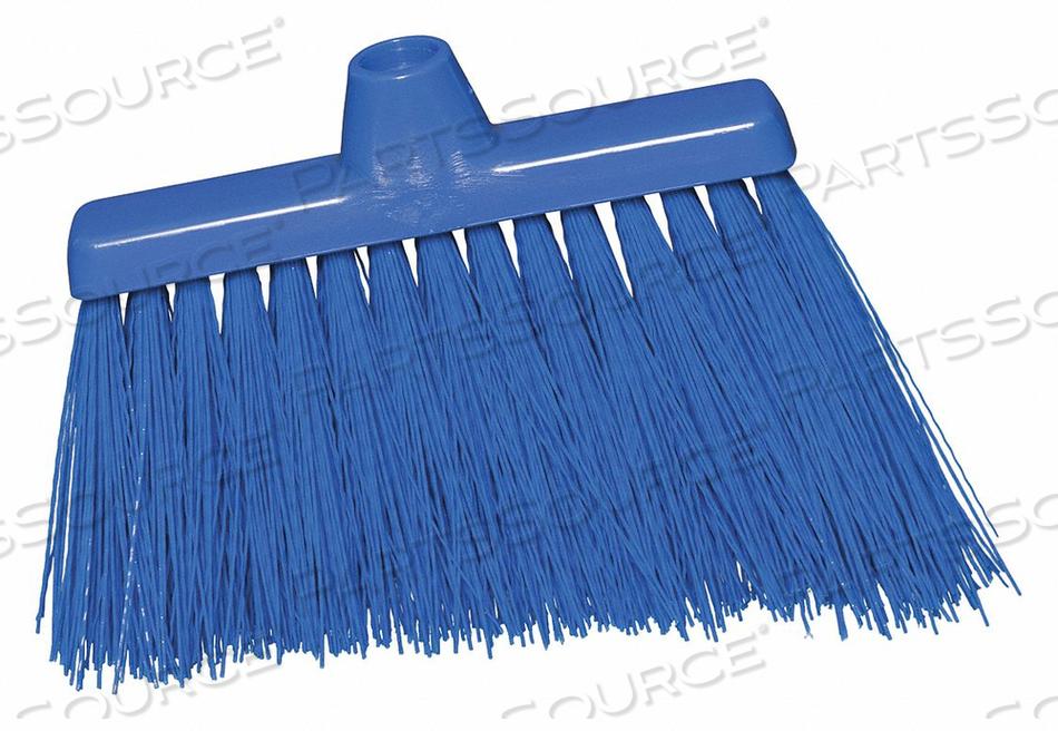 J4744 ANGLE BROOM HEAD BLUE BRISTLE 6-1/2 L by Tough Guy
