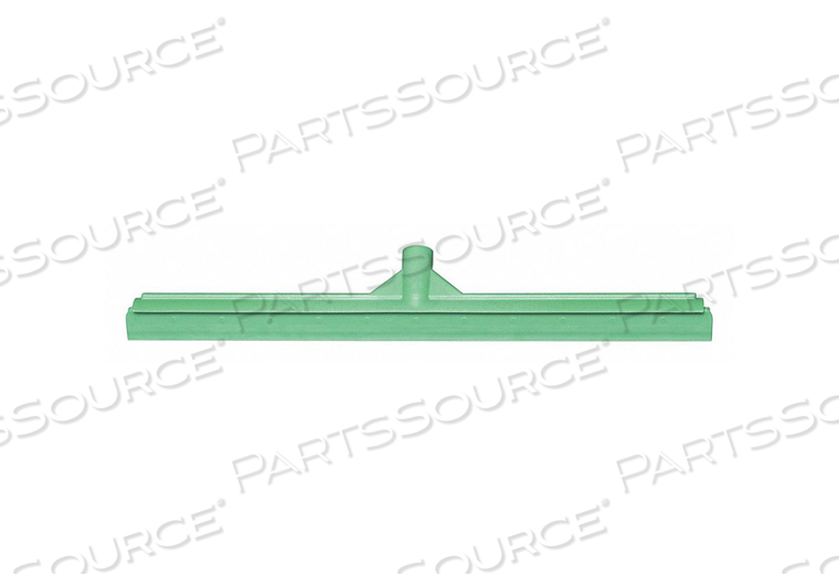 J4746 FLOOR SQUEEGEE STRAIGHT GREEN 23-39/64 W by Tough Guy