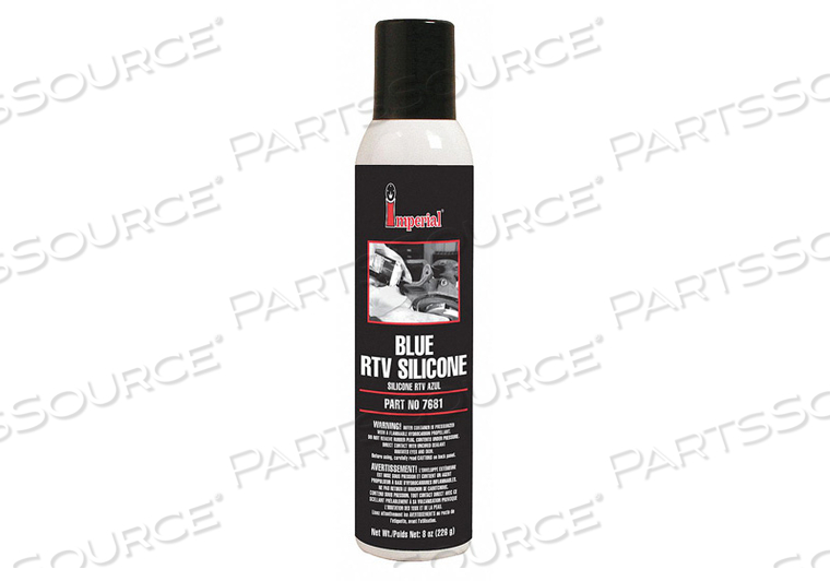 RTV SILICONE SEALANT 8 OZ. BLUE PK6 by Imperial Supplies