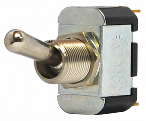 TOGGLE SWITCH SPDT 10A @ 250V QUIKCONNCT by Carling Technologies