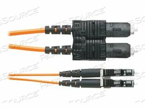 PANDUIT NETKEY - PATCH CABLE - LC MULTI-MODE (M) TO SC MULTI-MODE (M) - 10 M - FIBER OPTIC - 50 / 125 MICRON - OM3 - RISER - AQUA by Panduit