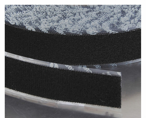 RECLOSABLE FASTENER LOOP 1X75 FT BLACK by Velcro