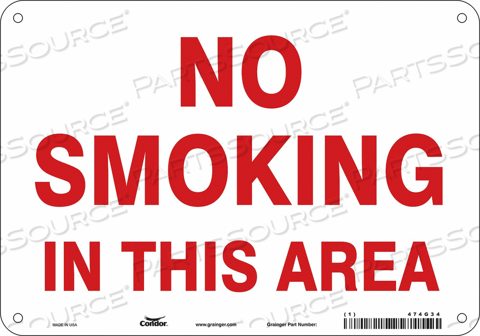 J7016 SAFETY SIGN 10 W 7 H 0.060 THICKNESS by Condor