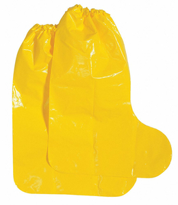 BOOT COVERS L YELLOW PK100 by Polyco