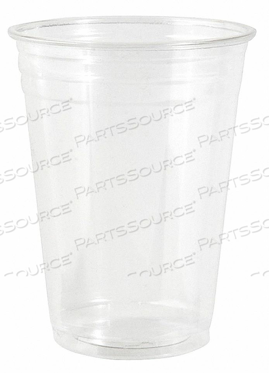DISPOSABLE COLD CUP 10 OZ. CLEAR PK1000 by Dixie