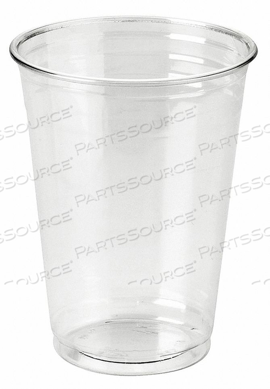 DISPOSABLE COLD CUP 10 OZ. CLEAR PK500 by Dixie