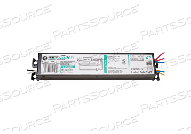 CFL BALLAST ELECTRONIC 99W 120/277V by GE Lighting
