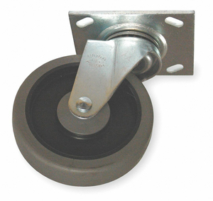 SWIVEL CASTER FOR USE WITH 3LU61-2 by Rubbermaid Medical Division