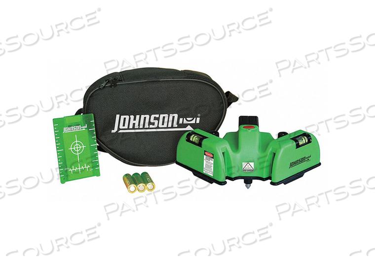 LINE/DOT LASER LEVEL INT GREEN 150 FT. by Johnson Level