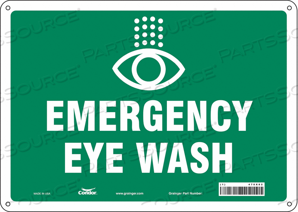 SAFETY SIGN 14 W X 10 H 0.060 THICK by Condor
